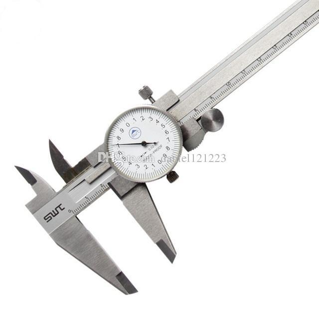 0-150mm//0.02 Dial Caliper Metal Vernier Caliper Metric Micrometer Measuring Tool