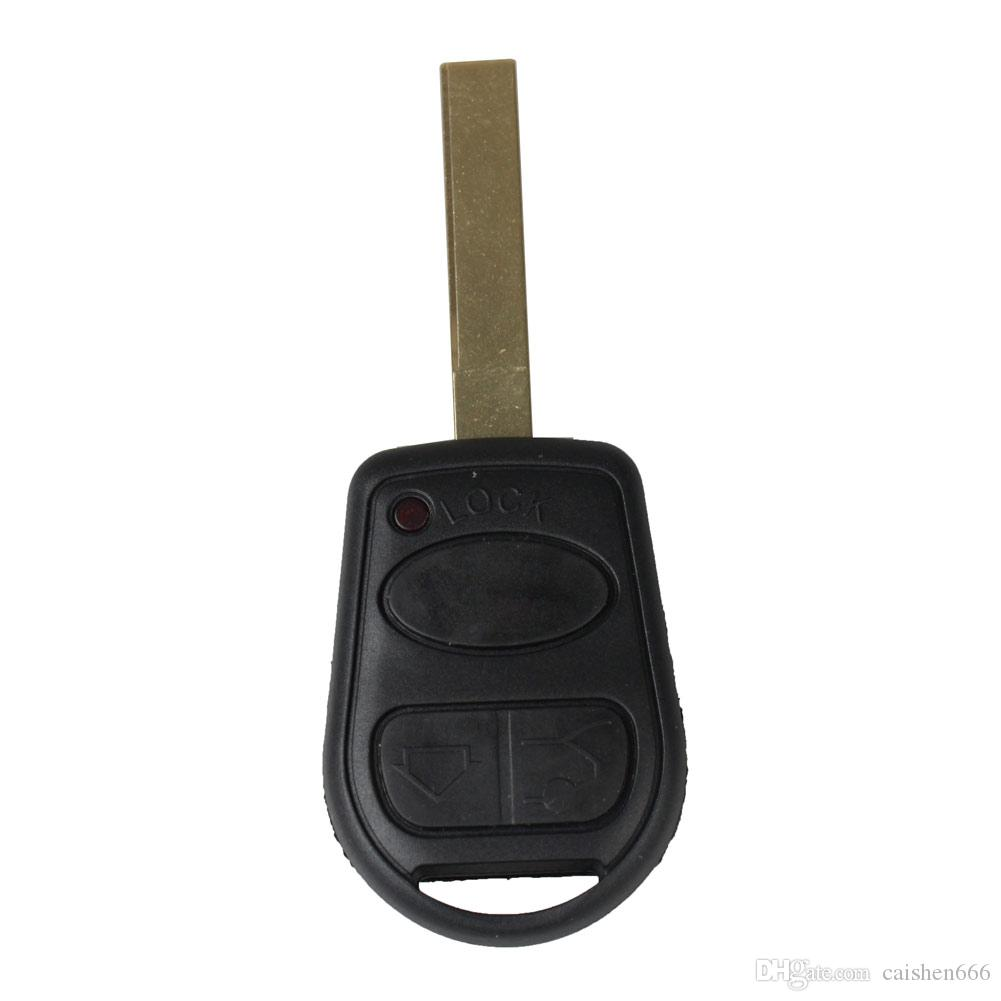 Car 3Buttons Replacement Keyless Remote Fob Key Shell Case Key For Land Rover Range Rover L322 HSE Vogue