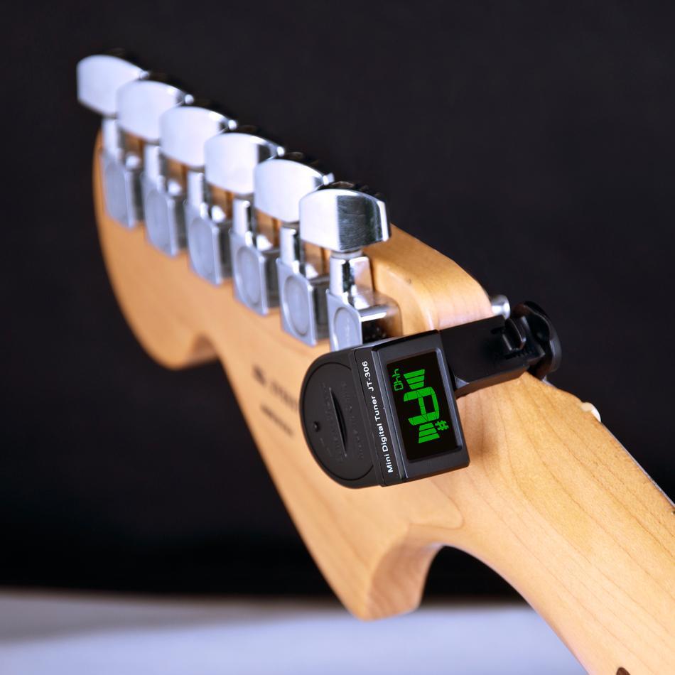 مصغرة الغيتار موالف الرقمية lcd كليب على موالف للكهرباء الصوتية الكلاسيكية الغيتار لوني الغيتار باس شحن مجاني شحن مجاني