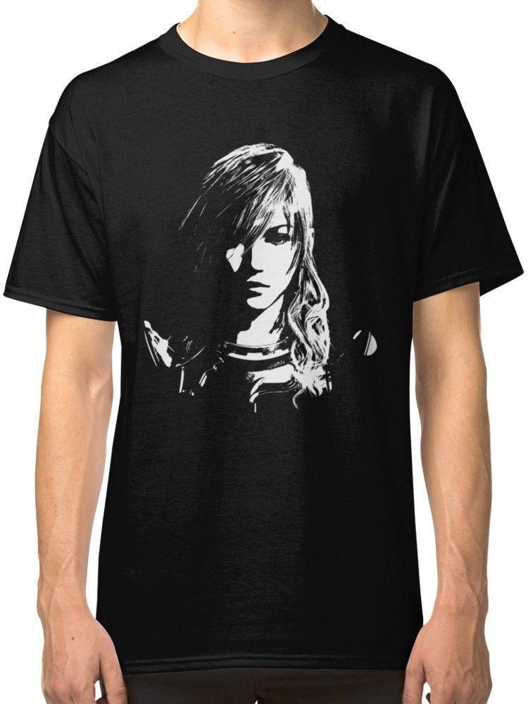 New Final Fantasy Xiii Lightning Black And Logo Men Women T Shirts S 5xl T Shirt And Shirt Shop T Shirts Online From Shirtifdesign 11 01 Dhgate Com