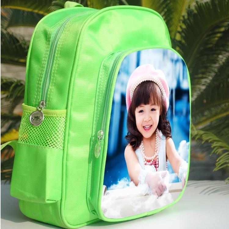 zainetto per bambini ragazze borse bambino con i tuoi bambini foto personalizzata o design o nome del testo sublimazione Adatto per 4 a 6 anni