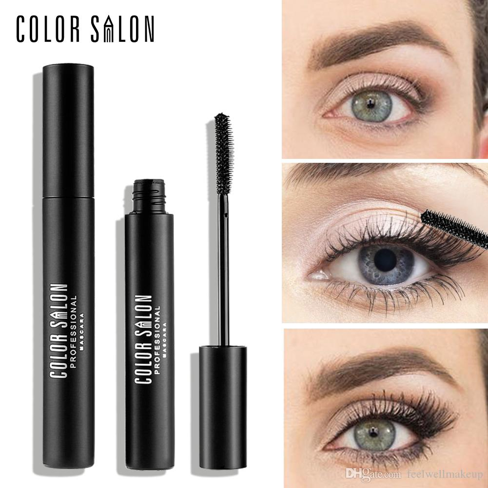 Color Salon Super Volume Fyeliner Mascara Dense Long Curing Duradera Waterproof 3D Long-Curling Máscara 8g Hot Sell Brand