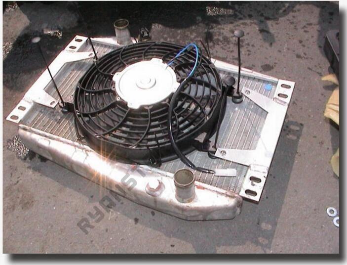 Car Electric Fan Mounting Kit Tie Rod Kit Bracket For Chevy Ford Mopar SBC BBC