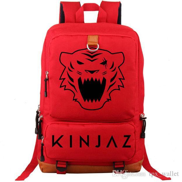 Hermandad a toda costa mochila Kinjaz tiger daypack Bolso de grupo de baile Mochila de ocio Mochila de deporte Mochila de día al aire libre