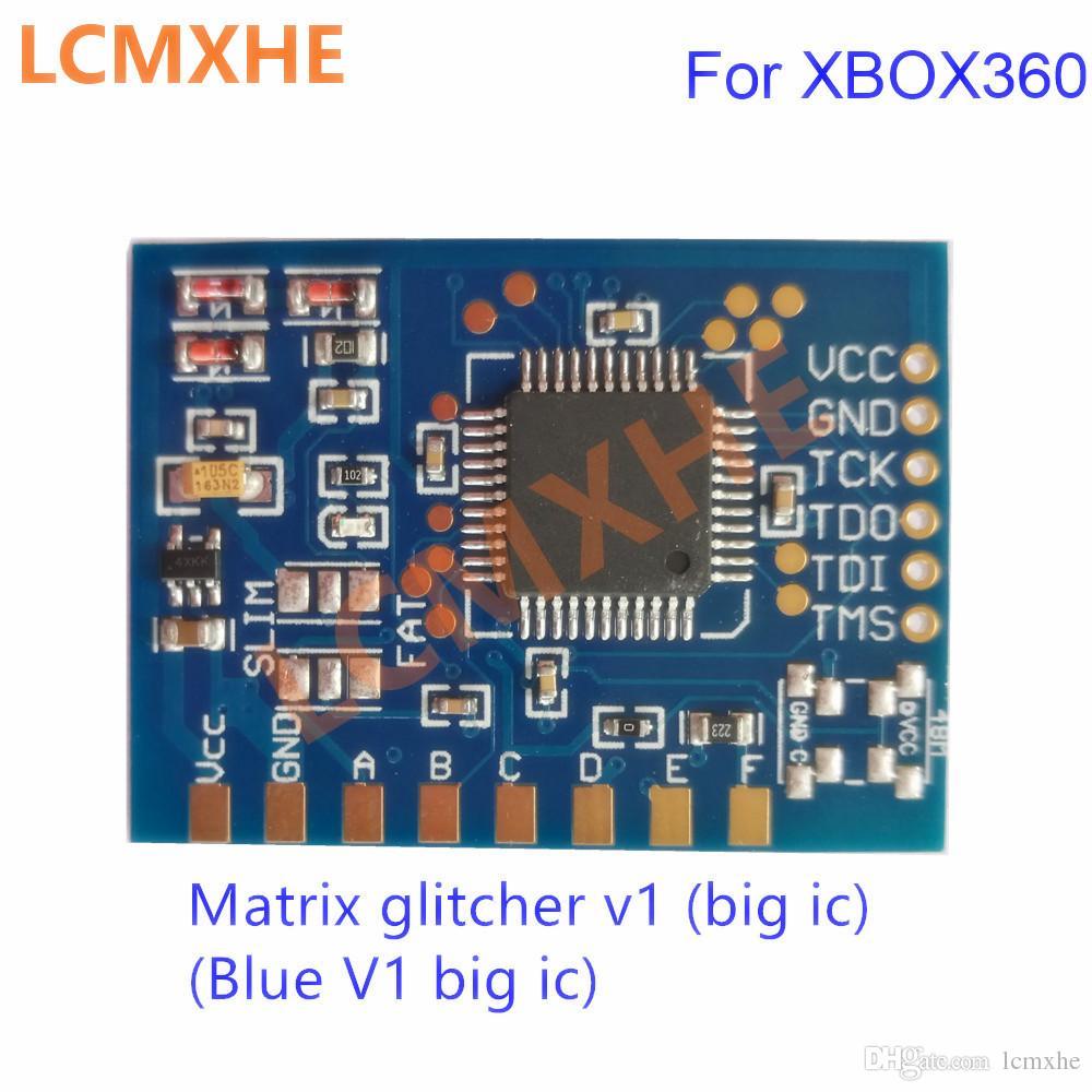 مصفوفة glitcher v1 مع ic كبير دون 48 ميجا هرتز كريستال مذبذب ل xbox360 إصلاح جودة عالية شحن مجاني