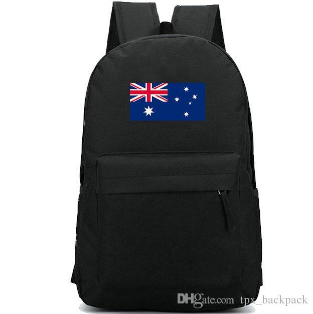 أستراليا العلم ظهره نجمة logo البلد اليوم حزمة العلبة Aussie راية المدرسة عارضة packsack جيدة حقيبة الظهر الرياضة المدرسية في الهواء الطلق daypack