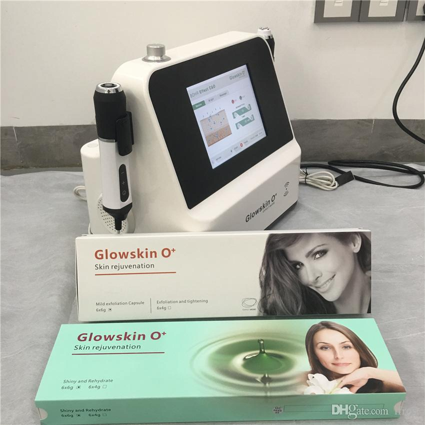 Price price Portable Clinic use and beauty salon Glowskin O+ Oxygen Spray RF Ultrasound device carbon herapy machine