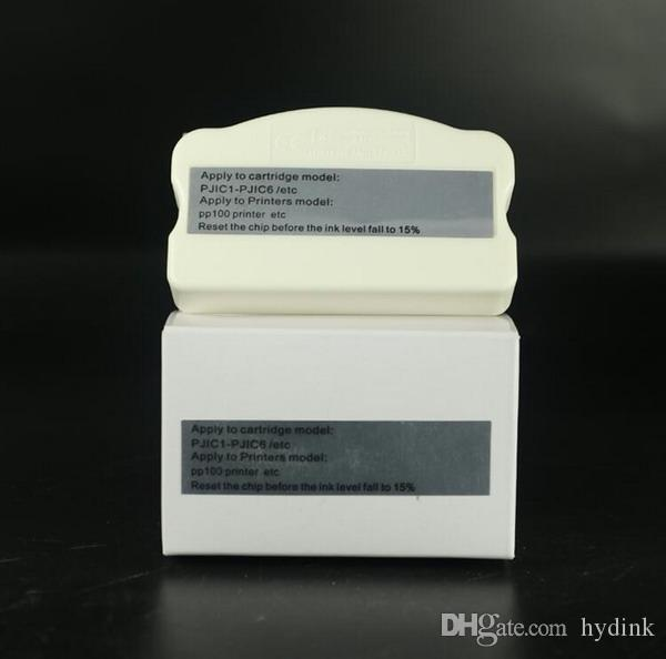 1 pcs PJIC chip resetter para Epson Discproducer PP-100 PP-50 impressora cartuchos de tinta PJIC1-PJIC6 reciclar uso