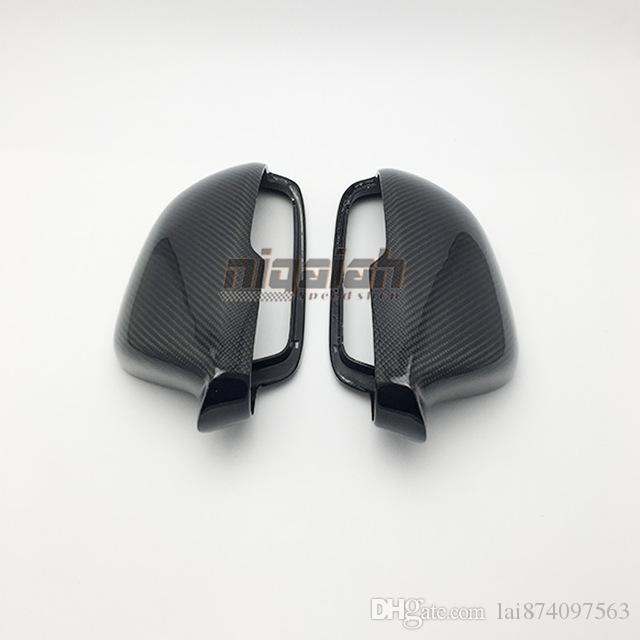 2018 High quality Replacement Type Real Carbon Fiber Side Mirror Cover Rearview Mirror Cover For Skoda Octavia 2012-2014
