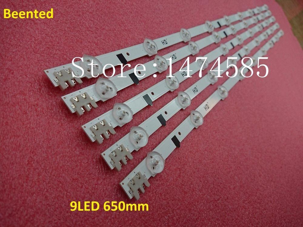 Freeshipping neu !! 20 Stück * 9LED LED Hintergrundbeleuchtung D2GE-320SC0-R3 2013SVS32H für 32 Zoll TV UA32F4088AR CY-HF320AGEV3H UE32F5000 650mm