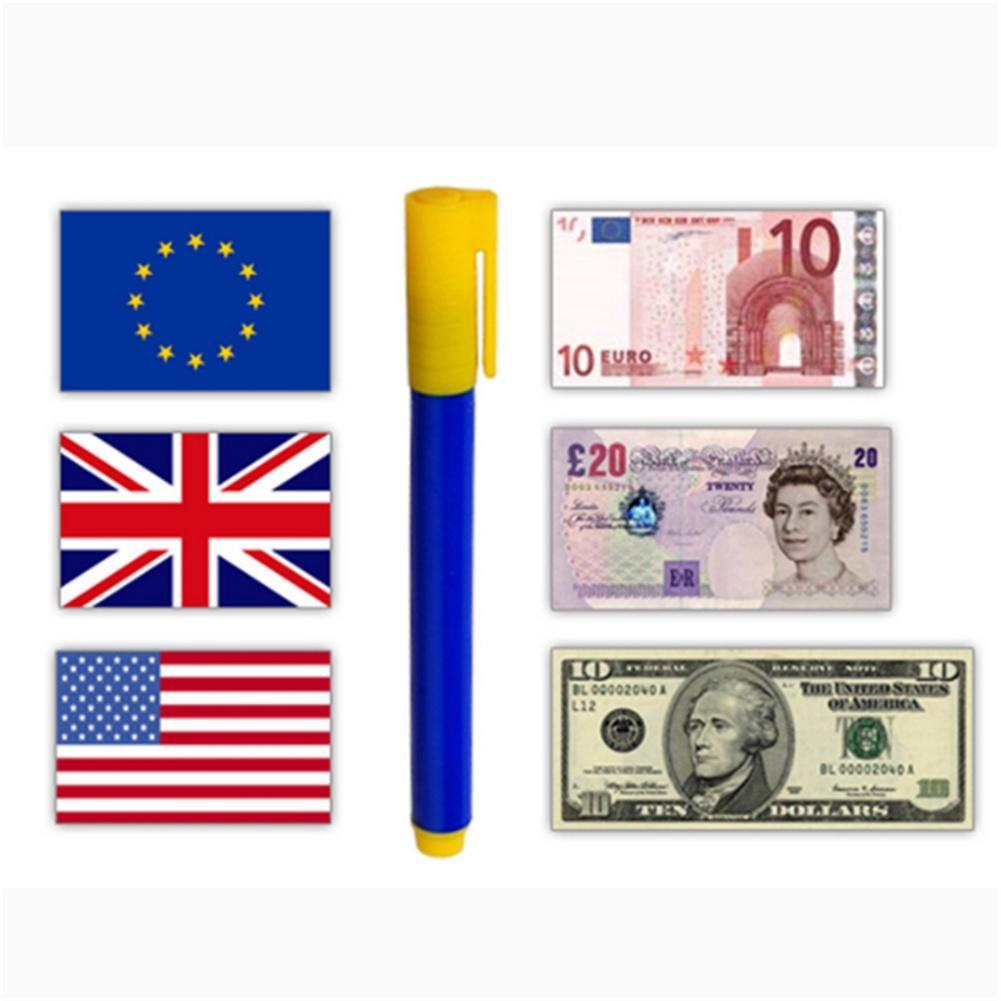 Money Checker Pen For New Notes Bank Note Pen Detector Fake Notes Tester Pen UK