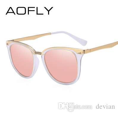 2018 AOFLY Moda Feminina Polarizada Óculos De Sol Das Mulheres Do Vintage Designer de Marca Óculos Acessórios Óculos de Sol Condução Óculos de Sol AF7968