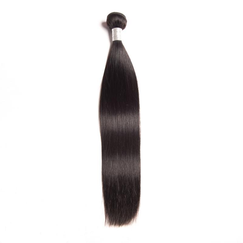 بيرو الإنسان الشعر ملحقات مستقيم عذراء الشعر الجملة الشعر ينسج اللون الطبيعي 95-100g / piece حريري مستقيم حزمة واحدة