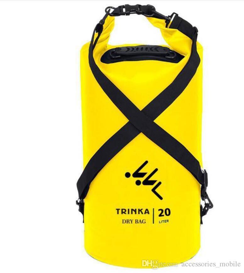 Outdoor PVC Waterproof Dry Sack Storage Bag Rafting Sports Kayaking Canoeing Swimming Bag Travel Kits 2L 5L 10L 15L 20L