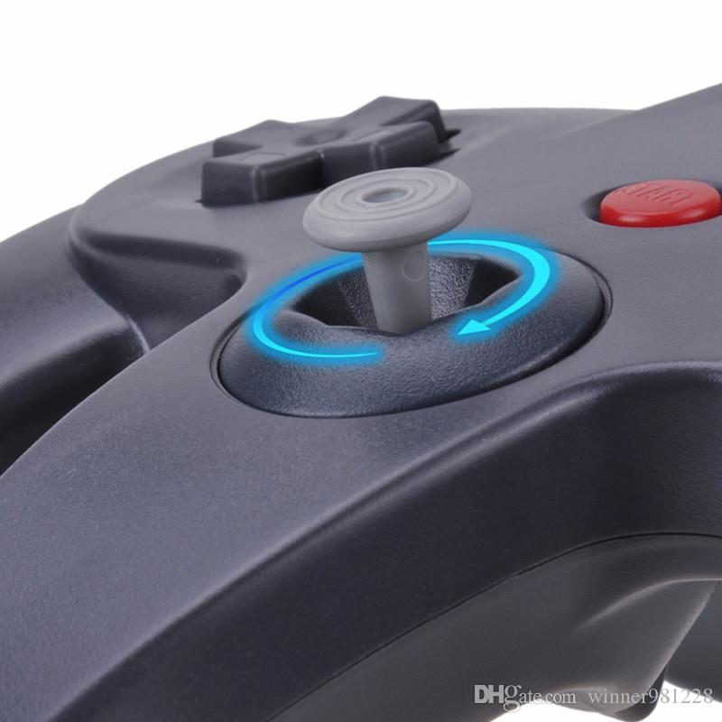 2018 new style USB Long Handle Game Controller Pad Joystick for PC 64 N64 System 5 Color