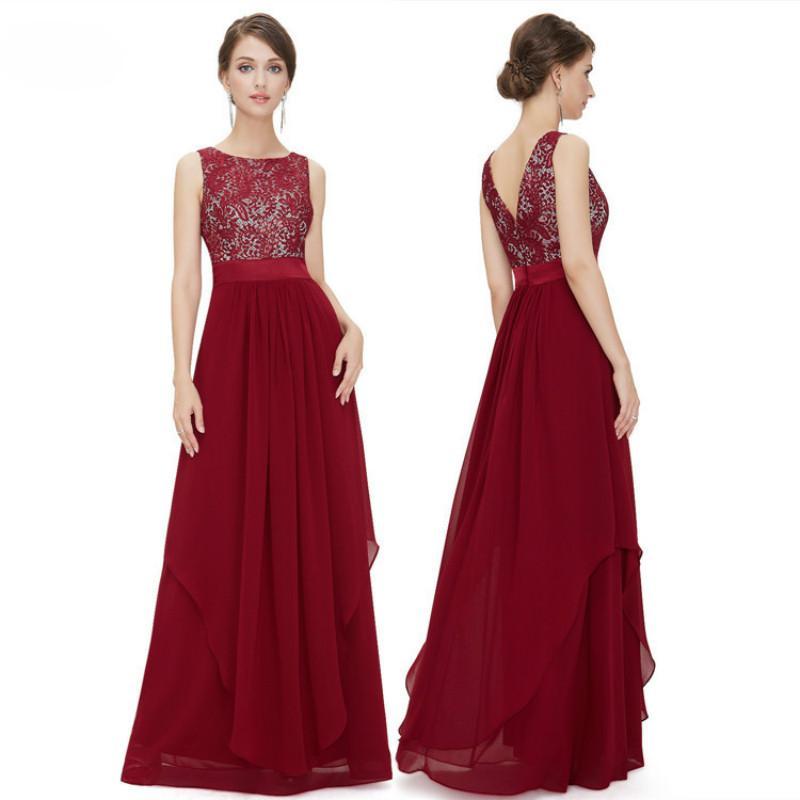 Серебряная вышивка Формальные вечерние платья для вечеринок Красный тюль Оверлей Высокий талисман A-Line Вечернее платье Длина пола Длинные формальные платья