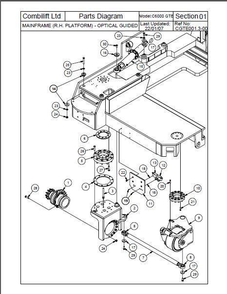 TEREX FUCHS Interparts Spare Parts Catalog Automotive Diagnostic System  Automotive Diagnostic Systems From Haoxikeji, &Price