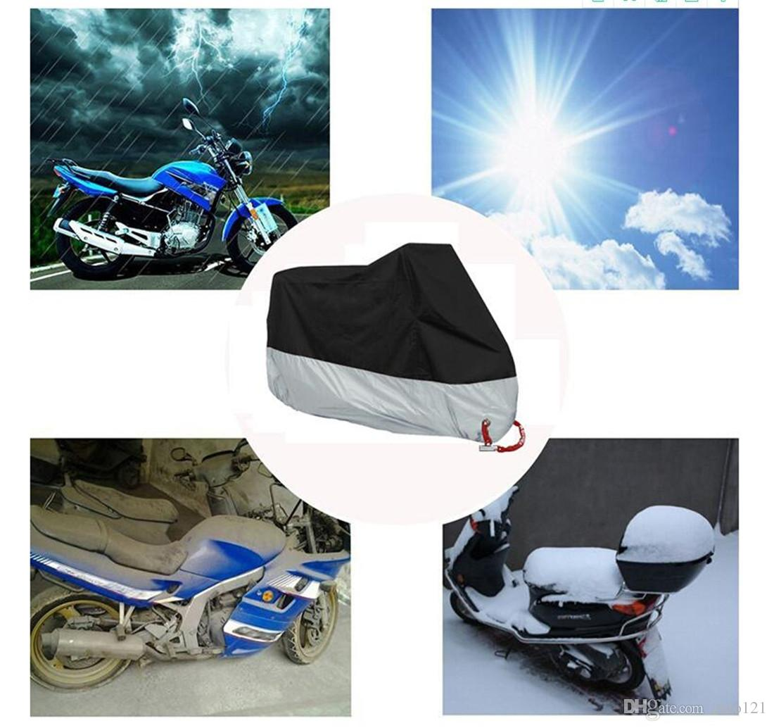 Motorcycle Moped Scooter Covers Anti UV Waterproof Dustproof Breathable EC