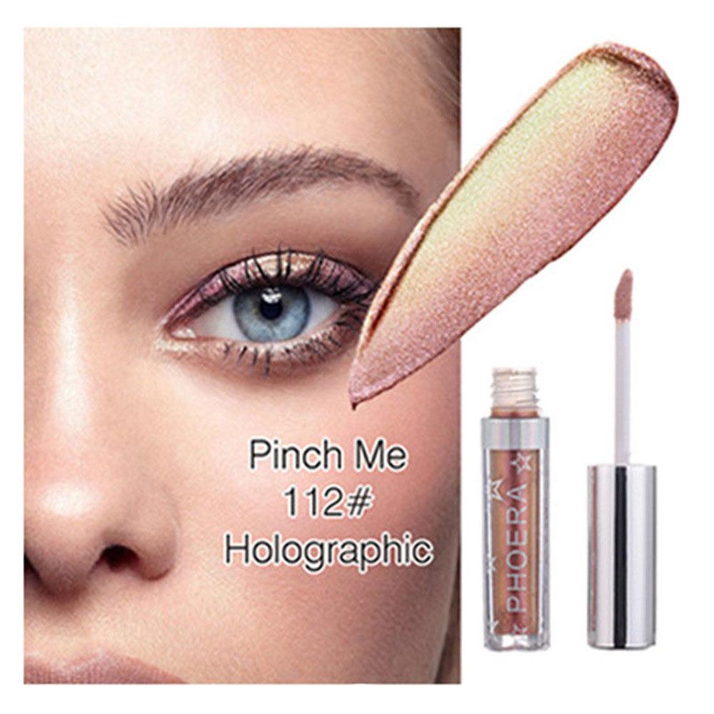 1pc 12 Color Eye Shadow Makeup Shimmer Eye Shadow Magnificent Metals Glitter Glow Liquid Eyeshadow Cosmetics Tool Make Up Kits