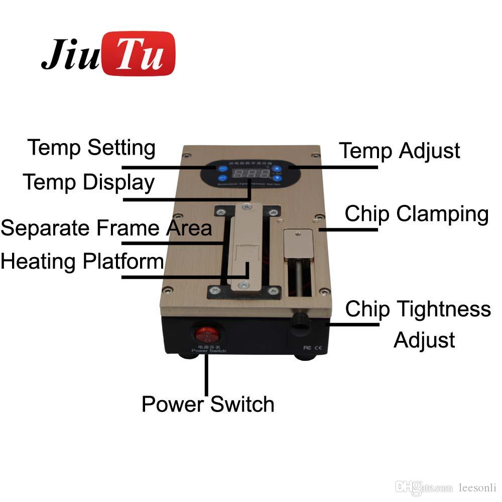 Jiutu LCD Separator Machine For iPhone X 8G 8 Plus 7G 7 Plus Repair Refurbished Fit All Under 7 inch LCD Screen