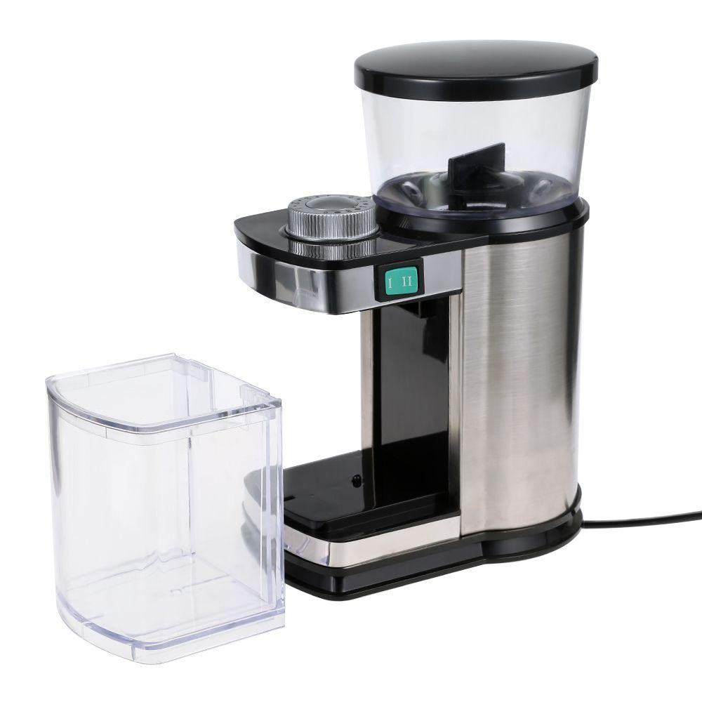 Household Gustino Elétrica Moedor De Café Fabricante De Café Máquina De Moer Moedor de Café Em Aço Inoxidável Multifunções Shell Grinder Café Moedor De TB