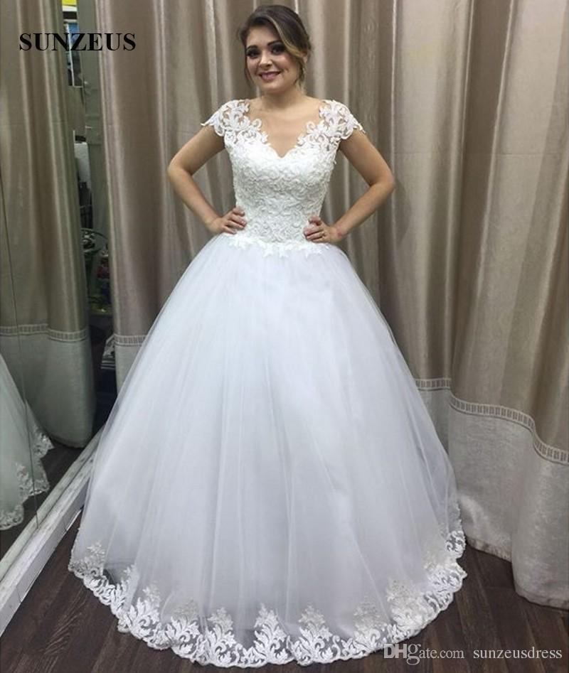 Acheter 2018 Robe De Mariée Manches Longues