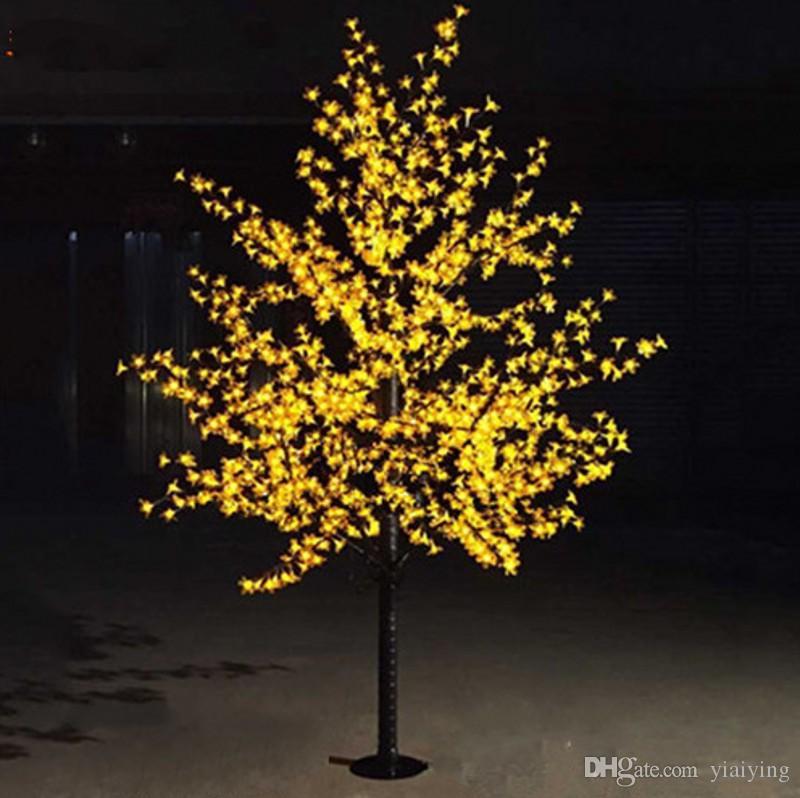 LED Luz de Navidad Cherry Blossom Tree 1152pcs Bombillas LED 2m / 6.5ft Altura Uso interior o al aire libre Envío gratis Envío de la gota a prueba de lluvia