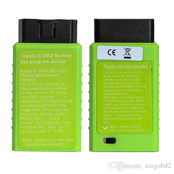 Toyo-ta G and Toyo-ta H Chip Vehicle OBD Remote Key Programming Device