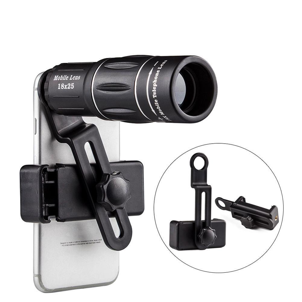 Binocolo monoculare telefono cellulare fotocamera teleobiettivo zoom telescopio lente per il telefono mobile caccia campeggio Travlling