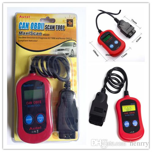 Autel MAXISCAN® MS300 Codlezer Scanner Tool OBDII Autel Maxiscan MS300 Codlezer Controleer Motorlamp Reset Tool