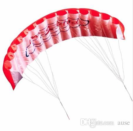 1.4M Dual Line Parafoil Kite Avec Des Outils Volants Beach Kite Power Braid Voile Kitesurf Sport Amusant Jouer Volant En Plein Air Jouet
