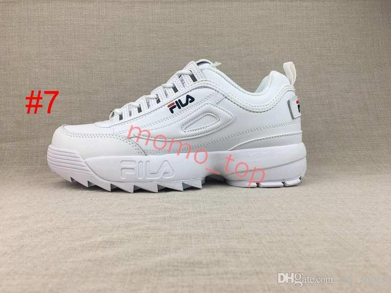 Großhandel 2018 Disruptors 2.0 P Weiß Große Damen Damen Laufschuhe Herren Laufschuhe Raf Simons Consortium Ozweego 2 Sawtooth Sports Damen Sneakers