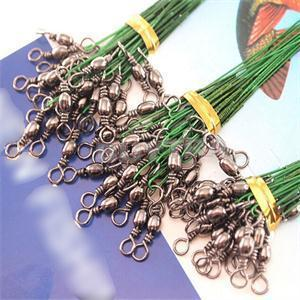 72 pcs 15/23/30cm Stainless Steel Coated Fishing Trace Lure Wire Spinner Leader Hooks Swivel Interlock Snaps Y18100906