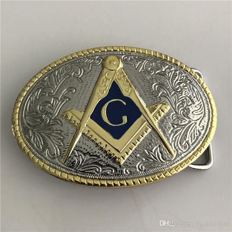 Freemason Belt Buckle American USA MOSON Belt Buckle Western Cowboy Buckle