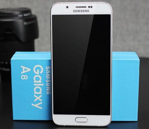 Oryginalny Samsung Galaxy A8 A8000 OCTA Core MSM8939 Android 5.1 2g RAM 32G ROM 16.0mp aparat 5.7'gps odnowiony telefon