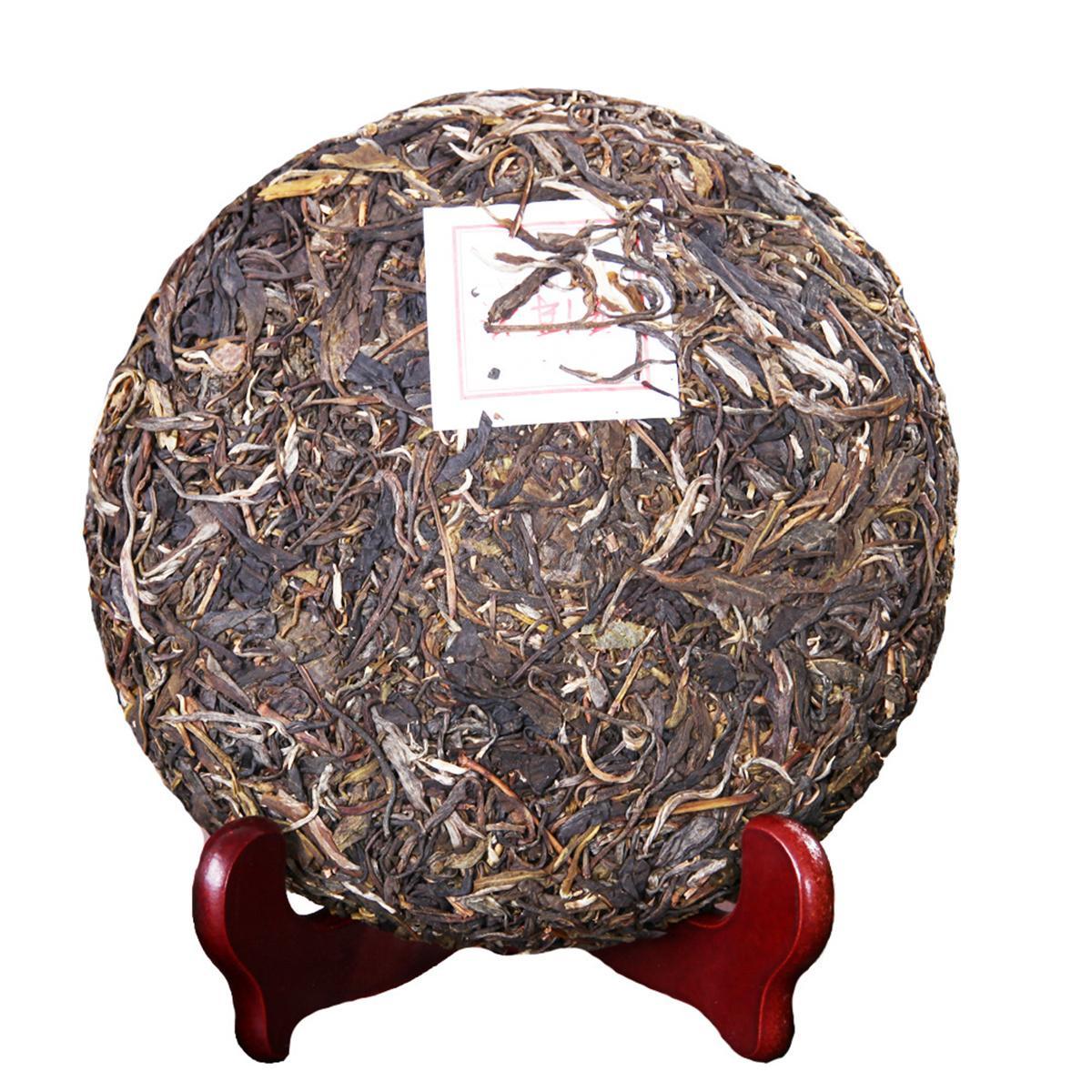 357g Сырье Пуэр чай Юньнань Alpine Big Tree Пуэр Чай Органические Природный Пуэр чай торт Старое дерево зеленый пуэр Preferred
