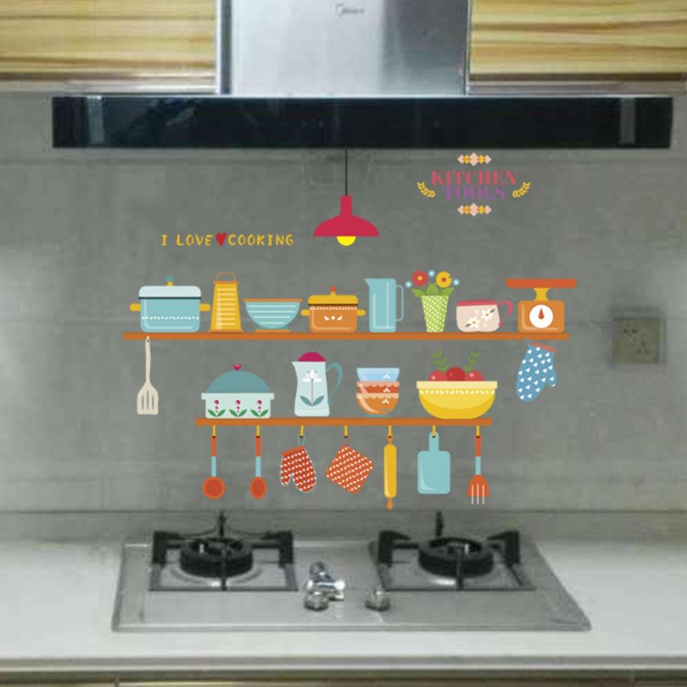 - Self Adhesive Kitchen Backsplash Decoration Stickers Peel And