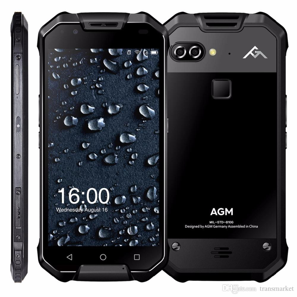 "AGM X2 IP68 Waterproof Mobile Phone 5.5"" 6GB RAM 64GB/128GB ROM Android 7.1 MSM8976SG Octa Core 12.0MP 6000mAh NFC smartphone"