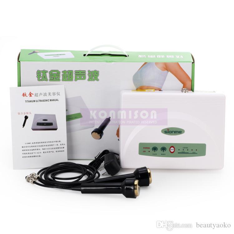 2 1 Evde Kullanım Ultrasonik yılında zayıflama makinesi için Vücut Zayıflama Cilt Sıkma Zayıflama Ultrason Güzellik Makinesi