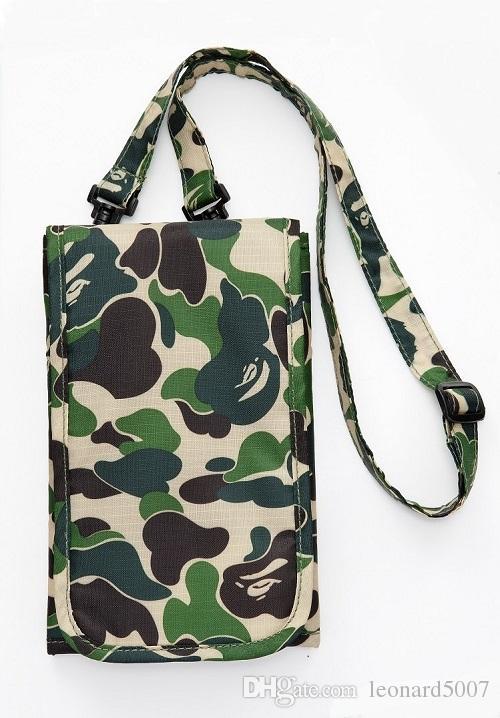 2018 Pack Ape Chest Pack Unisex Fanny Pack Fashion Waist Bag Men Canvas Hip-Hop Belt Bag Men Messenger Bags Canavas