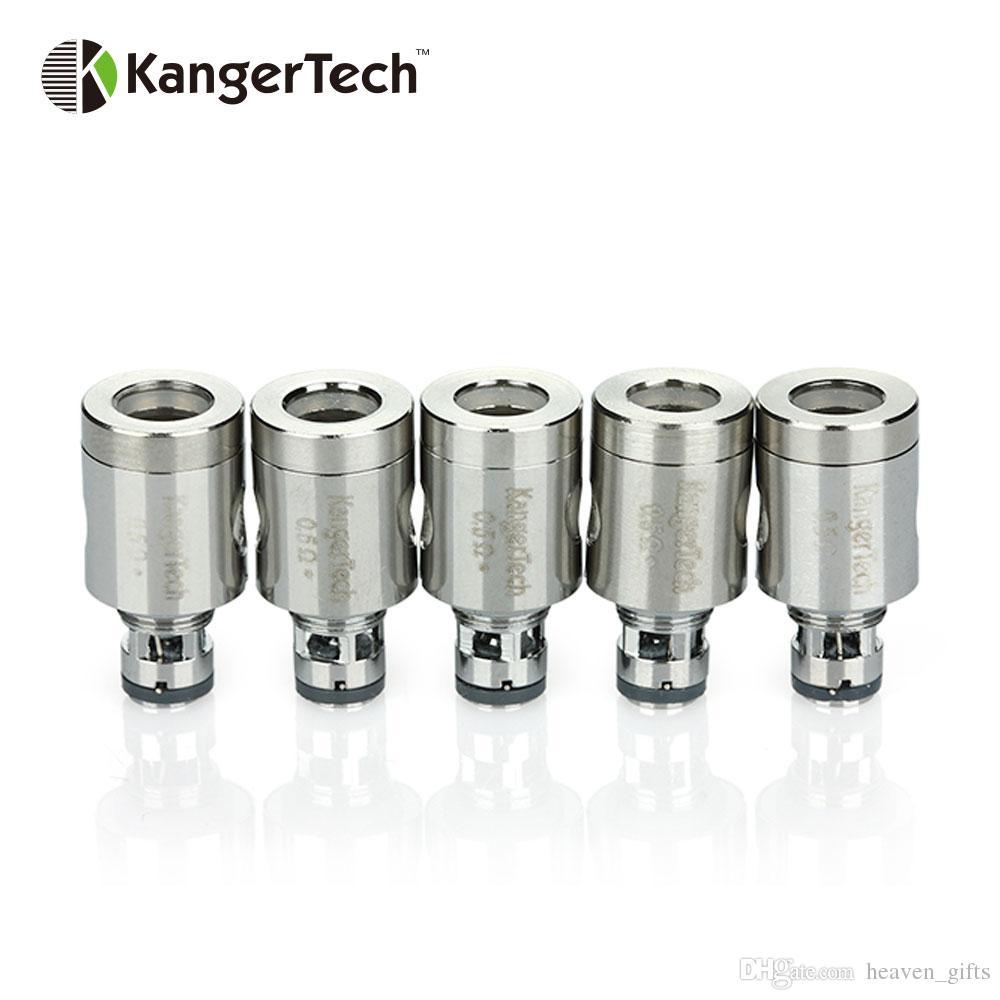 5шт KangerTech 0.5ohm Керамическая катушка для Kanger Subtank TOPTANK Распылитель 0.5ohm для 35 Вт ~ 60 Вт Огромный пар
