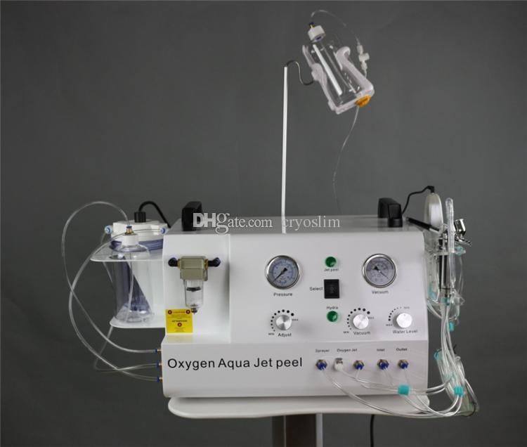 5 em 1 portátil multifuncional purificador de pele casca de diamante jato de oxigênio peel hidro máquina facial