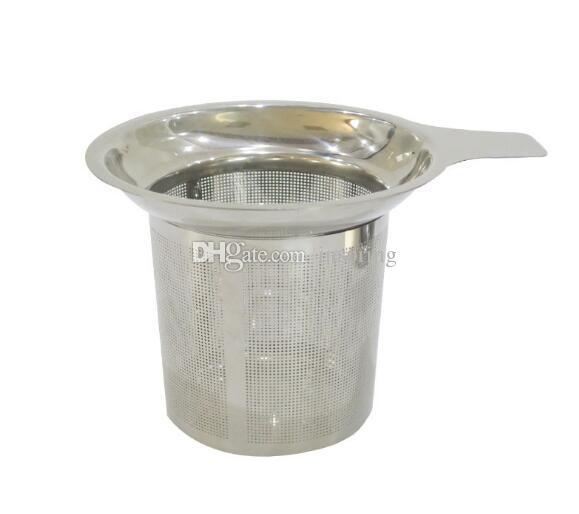 Новые прибытия из нержавеющей стали сетки чай Infuser многоразовые ситечко рассыпной чай лист фильтр DHL FEDEX бесплатно