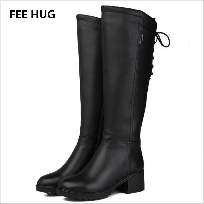 D'hiver De Botte Chaussures 30 FEE Naturelle Acheter HUG Femmes D'équitation En Chaud Bottes Laine Femmes Cuir Véritable Bottes Garder Hiver La Femme uTPZkXwOi