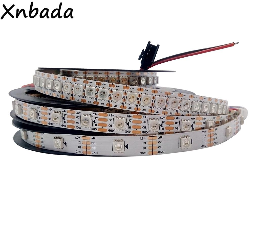 WS2812B Update RGB Led Strip 30//60//144 Pixels//Leds//m WS2813 IC DC5V WS2813