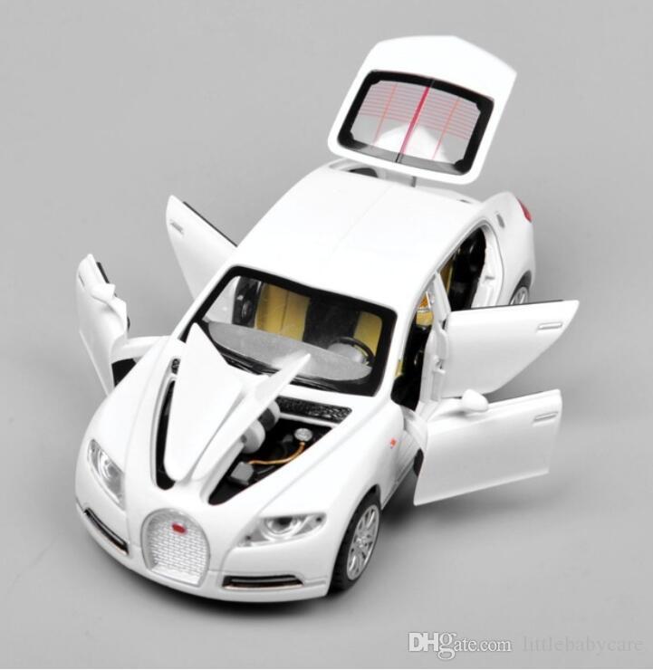 Sıcak Satış Tahsil Alaşım Elektronik ışık ses Geri Çekin Otomobil Modeli Çocuk Oyuncakları Boys için Ücretsiz Kargo