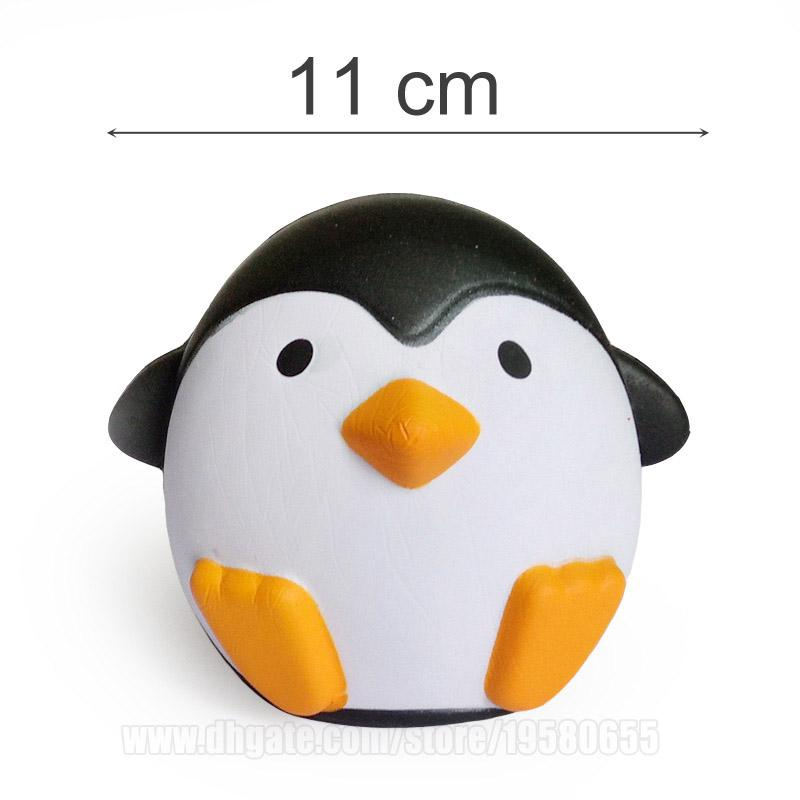 Squishies Toys Cake Strawberry Lemon Peach Ice Cream Penguin Chips Popcorn Milk Box Squishy Slow Rising Phone Strap DHL Free Shipping