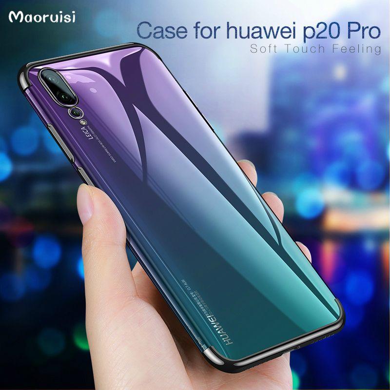 Custodia Impermeabile Smartphone Custodia Huawei P20 Pro Custodia Rigida In TPU Huawei P20 Lite / Huawei P20 Custodia Flessibile In Silicone Custodia ...
