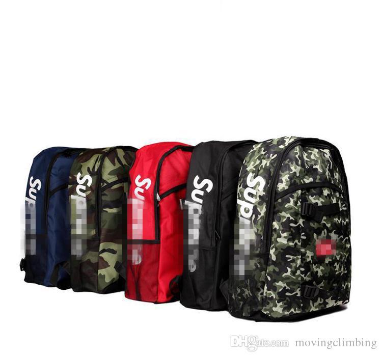 2018 حقيبة مدرسية جديدة وعصرية لتسلق الحقائب على ظهره Nylon Backpacks Unisex Street Backpack مثل حقيبة الظهر مع حرية الملاحة
