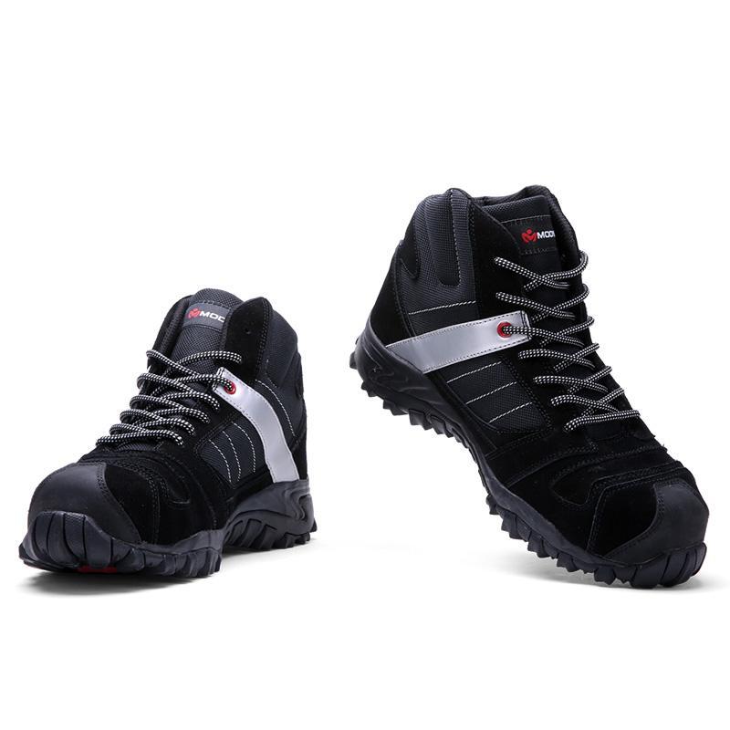 Großhandel 2019 MODYF Männer Stahlkappe Arbeitssicherheit Schuhe Outdoor Stiefeletten Mode Punktion Beweisen Schuhe Turnschuhe Von Cn66, $72.3 Auf